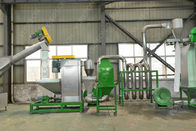 304 Stainless Steel Plastic Washing Recycling Machine 500kg / H For PET Bottles