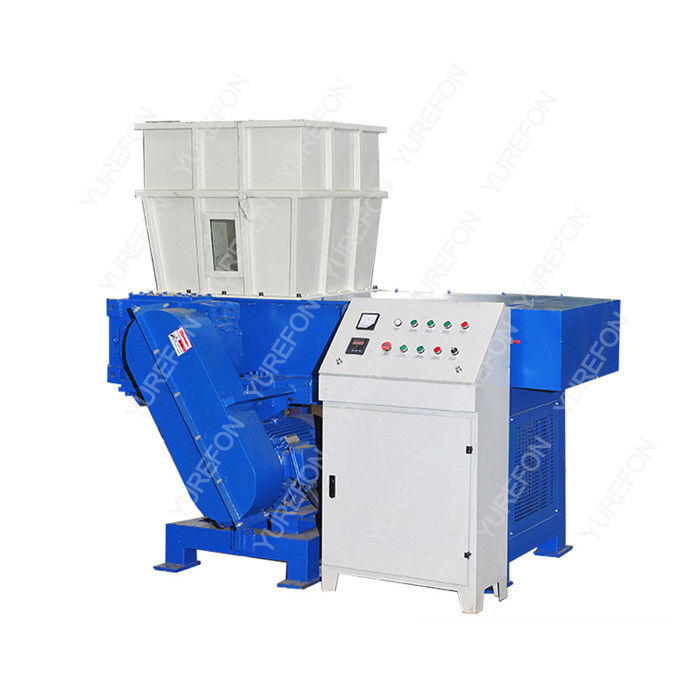 Multi Function Single Shaft Plastic Waste Shredding Machine SN - S3980 Low Noise